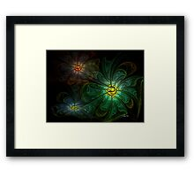 Bright Patch of Day Framed Print