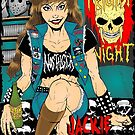 Jackie Anselmo - Headbanger Chick by MetalheadMerch
