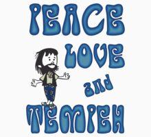 Peace Love and Tempeh Baby Tee