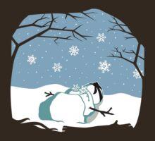 Fate of a Ninja Snowman by KentZonestar