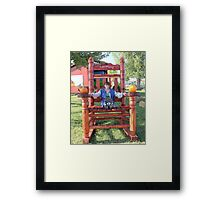 """And that's the truth! pfffffft!"" Framed Print"