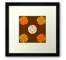 Pumpkin Chocolate Chip Cookies? Framed Print