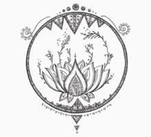 Lotus One Piece - Short Sleeve