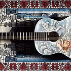 willie tribute guitar front by John-Mike