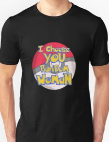 Random Woman Pokeball T-Shirt