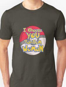 Random Woman Pokeball T-Shirt