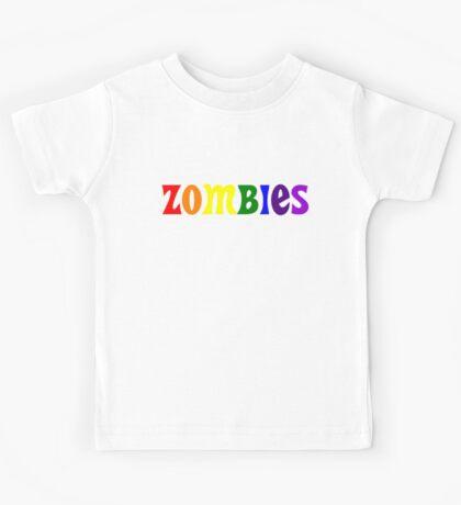 ZOMBIES Rainbow Kids Tee