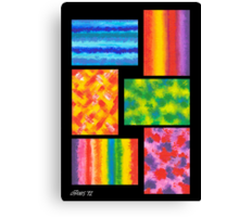 MINI ABSTRACT Canvas Print