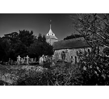 St Mary by Moonlight Photographic Print