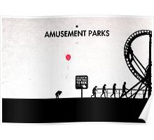 99 Steps of Progress - Amusement parks Poster