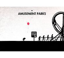 99 Steps of Progress - Amusement parks Photographic Print