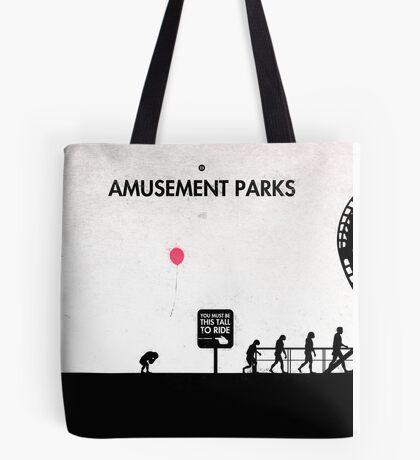 99 Steps of Progress - Amusement parks Tote Bag
