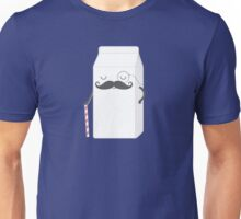 sir milk moustache Unisex T-Shirt
