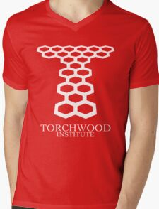 Torchwood Mens V-Neck T-Shirt