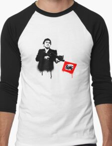 Tony Montana.  Men's Baseball ¾ T-Shirt