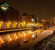 Leeds and Liverpool Canal | Leeds@Night by scottsmithphoto