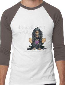 Real Vampires Don't Sparkle... Men's Baseball ¾ T-Shirt