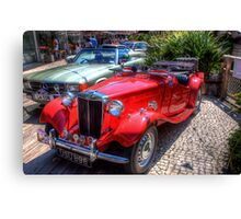 Classic Car # i Canvas Print