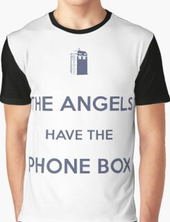 The Angels have the Phone Box - Weeping Angels - Doctor Who Graphic T-Shirt