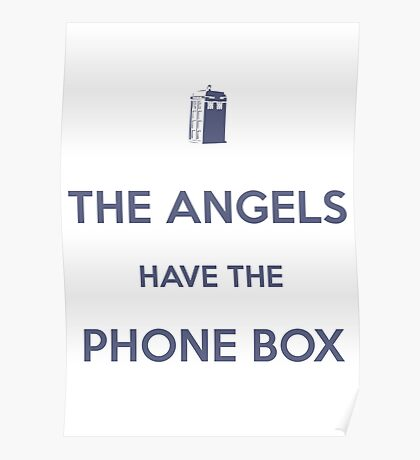 The Angels have the Phone Box - Weeping Angels - Doctor Who Poster