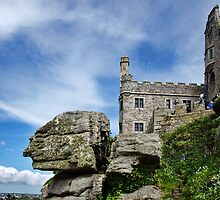 The Face Of A Giant? ~ St Michael's Mount by Susie Peek