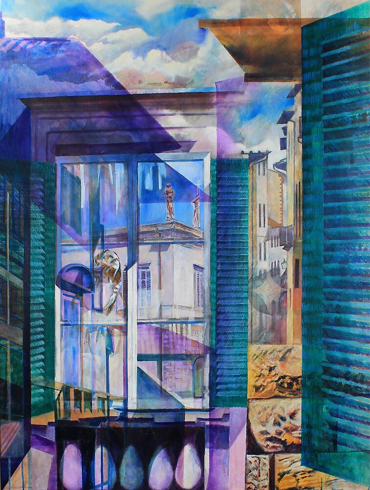 Untitled 9 - (città Toscana) by Richard Sunderland