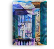 Untitled 9 - (città Toscana) Canvas Print