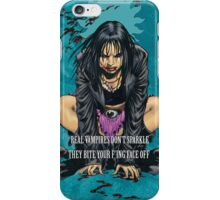 Real Vampires Don't Sparkle... iPhone Case/Skin