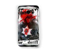 Thompson for Sheriff Samsung Galaxy Case/Skin