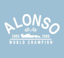 Fernando Alonso Formula 1 World Champion 2005 and 2006 by ApexFibers