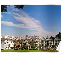 The Painted Ladies of Alamo Square Poster