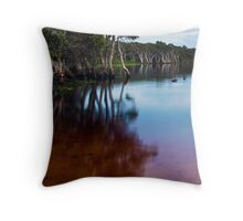Lake Ainsworth, early morning, No. 1 Throw Pillow