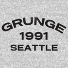 Grunge 1991 Seattle by Alternative Art Steve