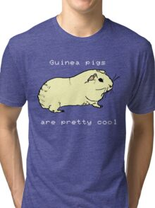 Guinea pigs are pretty cool. Tri-blend T-Shirt