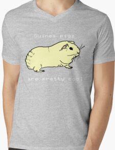 Guinea pigs are pretty cool. Mens V-Neck T-Shirt