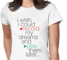 I Wish... Womens Fitted T-Shirt
