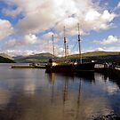 Inveraray, Loch Fyne by mikebov
