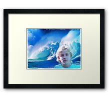 ~ Ocean Blue ~ Framed Print