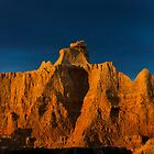 Sunrise over Badlands Door Trail .3 by Alex Preiss