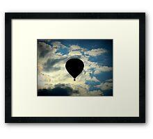 Solo flight  ^ Framed Print