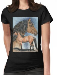 Kiger Mustang Womens Fitted T-Shirt
