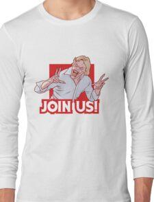 Evil ED from Evil Dead 2 Long Sleeve T-Shirt