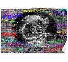 My creative Grafittie Wall  Poster