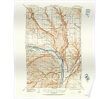 USGS Topo Map Washington State WA Malaga 242136 1912 62500 Poster