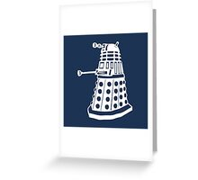 Dalek - Doctor Who Greeting Card
