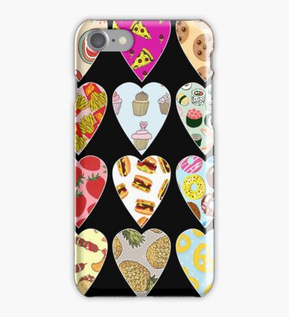 Food Hearts iPhone Case/Skin