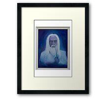 Gandalf ~ The White Framed Print
