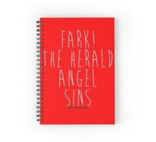 Hark! The Herald Angel Sings! Spiral Notebook