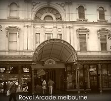 Royal Arcade Melbourme by Leigh Kerr