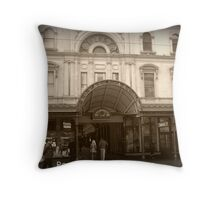 Royal Arcade Melbourme Throw Pillow